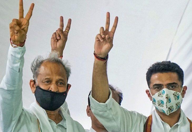 राजस्थान – अशोक गहलोत सरकार ने विधानसभा में विश्वास मत जीता , 21 अगस्त तक सदन स्थगित