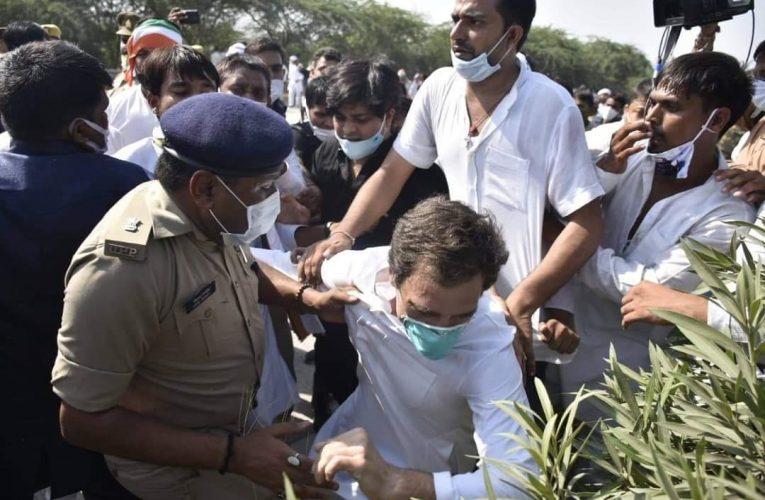 नेशलन लखनव हाथरस – गैंगरेप की घटना से ज्यादा राहुल गांधी के गिरने पर चर्चा