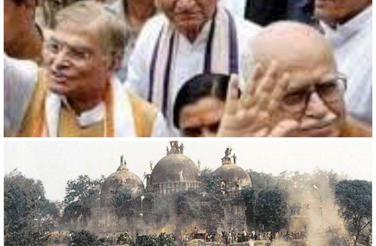 जयपुर – विवादित बाबरी के सभी आरोपी 28 साल बाद बाइज्जत बरी