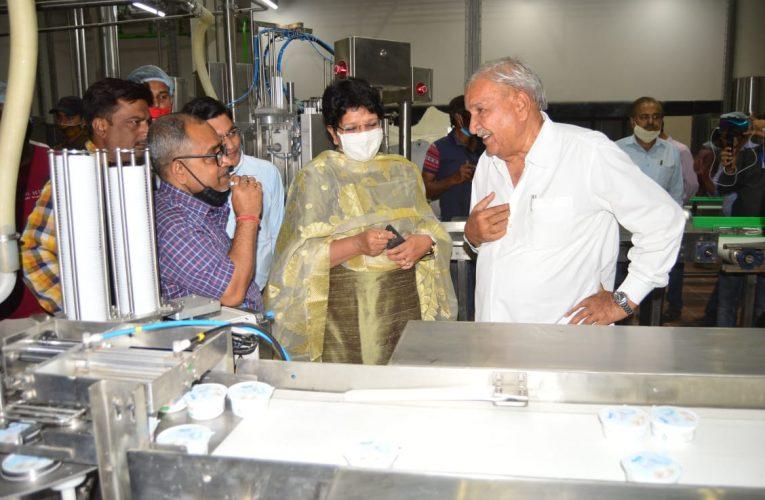 अजमेर – अजमेर डेयरी के नवीन प्लांट से आइसक्रिम का उत्पादन आरम्भ