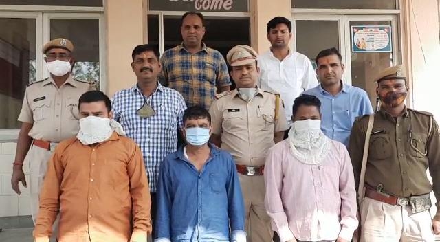 अजमेर – पंचशील में हुई चोरी की वारदात का खुलासा, दिल्ली में छुपाया चोरी किया गया माल